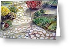 Jennifers Garden Greeting Card