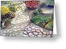 Jennifers Garden Greeting Card