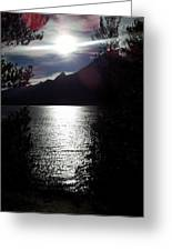 Jenny Lake And The Grand Tetons At Twilight Greeting Card
