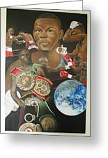 Jermain Taylor Montage Greeting Card