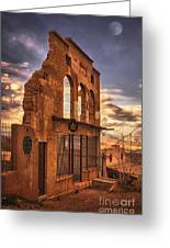 Jerome Market Ruins Greeting Card