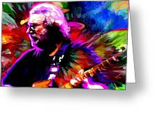 Jerry Garcia Grateful Dead Signed Prints Available At Laartwork.com Coupon Code Kodak Greeting Card