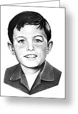 Jerry Mathers-as The Beaver-murphy Elliott Greeting Card