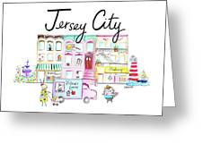 Jersey City Greeting Card