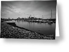 Jersey City Yacht Club Greeting Card
