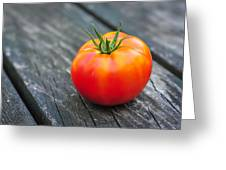 Jersey Fresh Garden Tomato Greeting Card