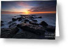 Jersey Shore Sunrise Greeting Card