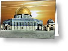 Jerusalem - The Light Greeting Card