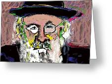 Jerusalem Man No. 2 Greeting Card