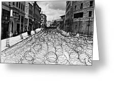 Jerusalem: Street, 1948 Greeting Card