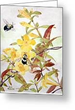 Jessamine Bee Mine Greeting Card