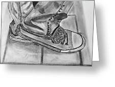 Jessicas Sneakers Greeting Card