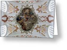 Jesuitenkirche -- Lucerne Jesuit Church Greeting Card