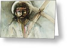 Jesus 3 Greeting Card