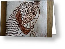 Jesus Christ - Tile Greeting Card