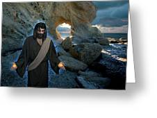 Jesus Christ- And Surely I Am With You Always Greeting Card