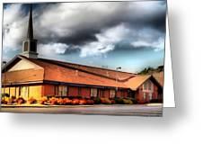Jesus Christ Of Latter Day Saints Greeting Card