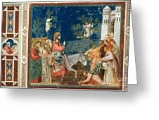 Jesus Entering Jerusalem Greeting Card