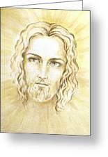 Jesus In Light Greeting Card