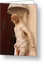 Jesus In Venice Greeting Card
