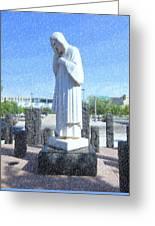 Jesus Wept 3 Greeting Card