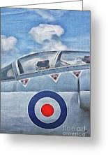 Jet Fighter By John Springfield Greeting Card