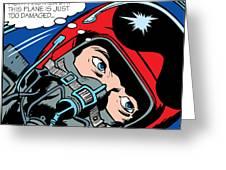 Jet Pilot Greeting Card