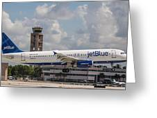 Jetblue Fll Greeting Card