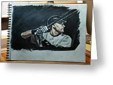 Jeter A Classic Greeting Card