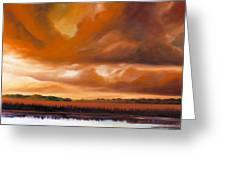 Jetties On The Shore Greeting Card