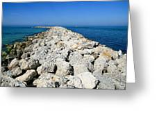 Jetty Greeting Card