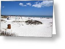 Jetty Park At Cape Canaveral In Florida Usa Greeting Card