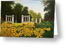 Jewel Box Gardens Greeting Card