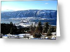 Jewel Of The Okanagan Greeting Card by Will Borden