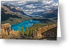 Jewel Of The Rockies Greeting Card