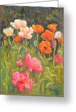 Jewels Of Spring Greeting Card