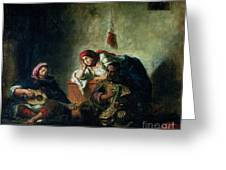 Jewish Musicians In Mogador Greeting Card