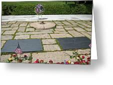 Jfk Eternal Flame Memorial Greeting Card