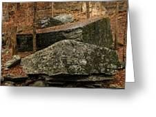 Jigsaw Rocks Greeting Card