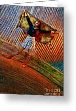 Jill Heron Magical Carpet Greeting Card