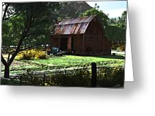 Jim Bob's Barn Greeting Card