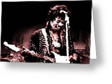 Jimi  Greeting Card by Andrea Barbieri