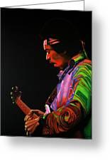 Jimi Hendrix 4 Greeting Card
