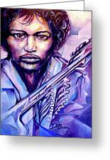Jimi Greeting Card