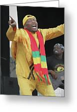 Jimmy Cliff Painting Greeting Card