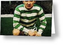 Jimmy Johnstone  Greeting Card