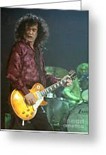 Jimmy Page-0005 Greeting Card