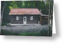 Jims Cabin Greeting Card