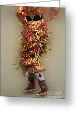 Pow Wow Jingle Dancer 6 Greeting Card
