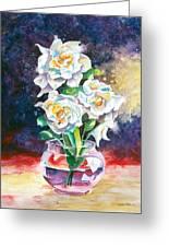 Joan's Gardenias Greeting Card